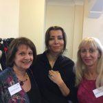 Elif, Judy & Maryon Stewart